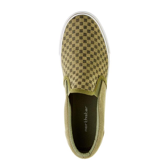 Dziecięce buty typu Slip-On mini-b, zielony, 319-7215 - 19