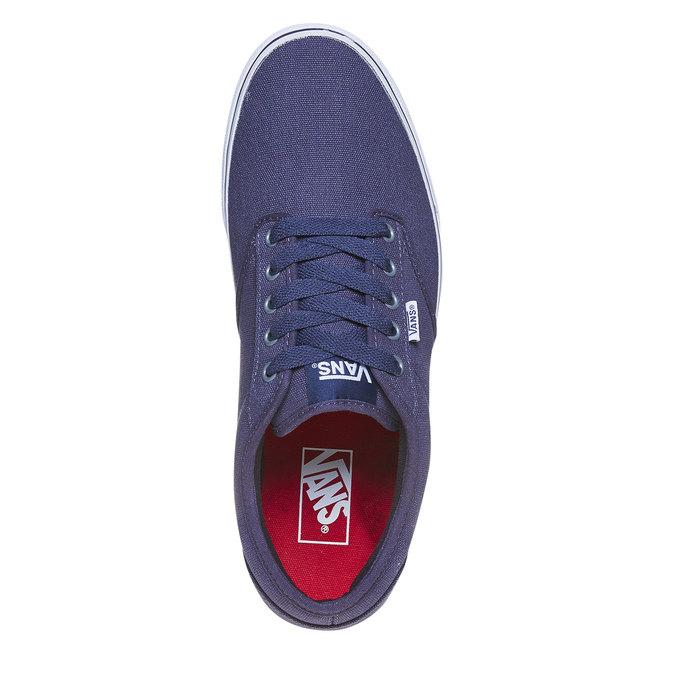 Klasyczne obuwie sportowe vans, niebieski, 889-9160 - 19