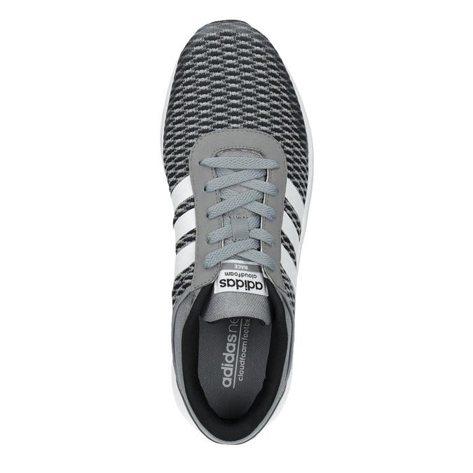 Trampki męskie adidas, szary, 809-2822 - 19