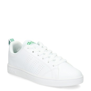 Białe trampki ze złotymi detalami adidas, biały, 501-1300 - 13