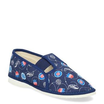 Pantofle dziecięce bata, niebieski, 379-9012 - 13