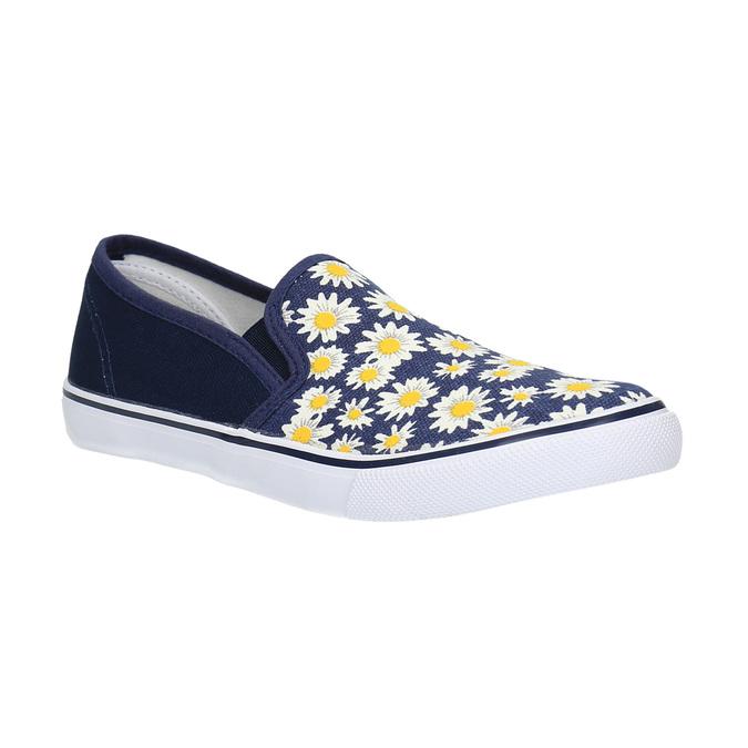Dziecięce buty typu Slip-On mini-b, niebieski, 329-9189 - 13