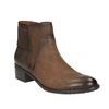 Botki damskie bata, brązowy, 696-4605 - 13