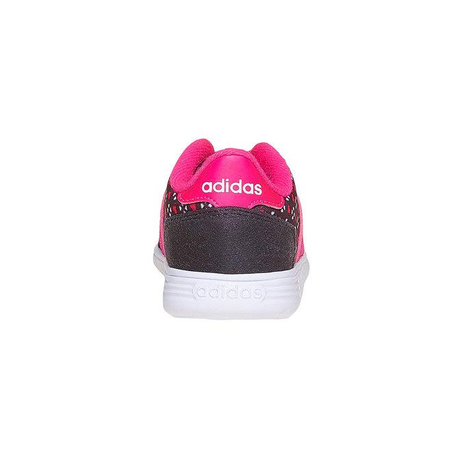 Dziewczęce buty sportowe adidas, czarny, 109-6141 - 17