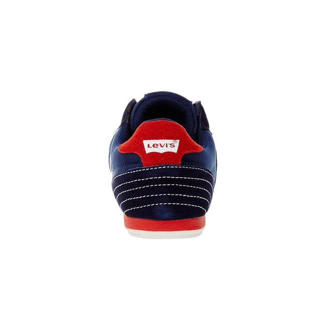 Męskie buty sportowe na co dzień levis, niebieski, 841-9198 - 17