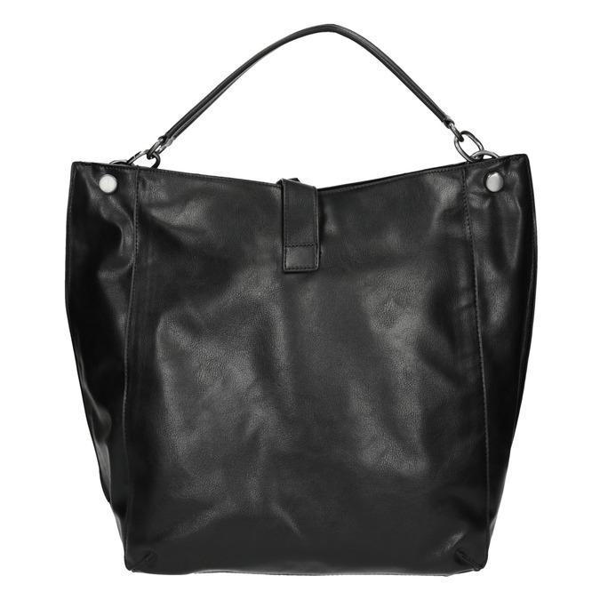Czarna torba w stylu Hobo bata, czarny, 961-6808 - 26