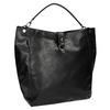 Czarna torba w stylu Hobo bata, czarny, 961-6808 - 13