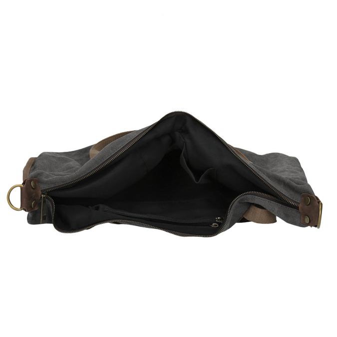 Duża torba z paskiem weinbrenner, szary, 969-2620 - 15
