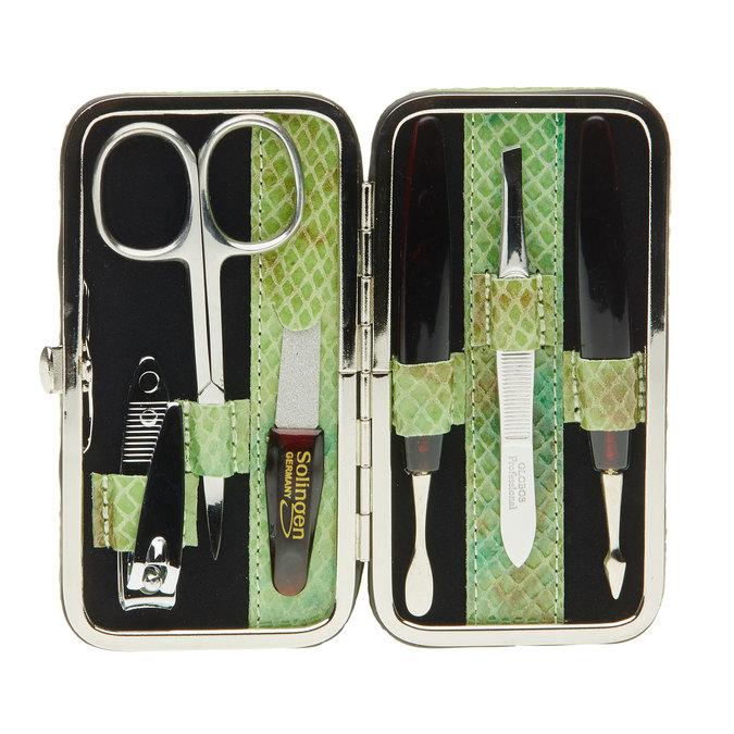 Zestaw do manicure w skórzanym etui bata, multi color, 944-0322 - 17