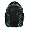 Plecak szkolny z nadrukiem bagmaster, zielony, 969-7613 - 19