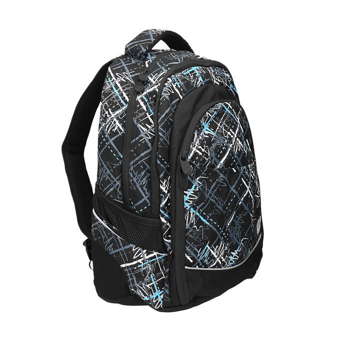 Plecak szkolny z nadrukiem bagmaster, czarny, 969-6616 - 13