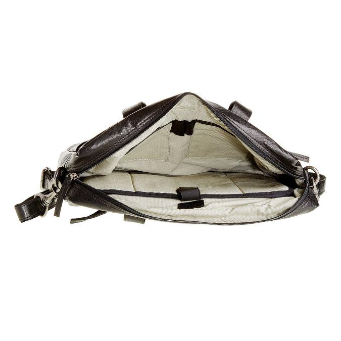 Skórzana torba bata, czarny, 964-6153 - 15