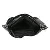 Czarna torba w stylu Hobo bata, czarny, 961-6808 - 15