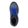 Granatowe trampki dziecięce za kostkę mini-b, niebieski, 411-9600 - 19