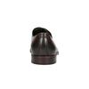Skórzane brązowe półbuty bata, brązowy, 824-4684 - 17