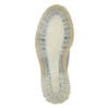 Skórzane półbuty damskie zprzezroczystą podeszwą weinbrenner, niebieski, 526-9608 - 26