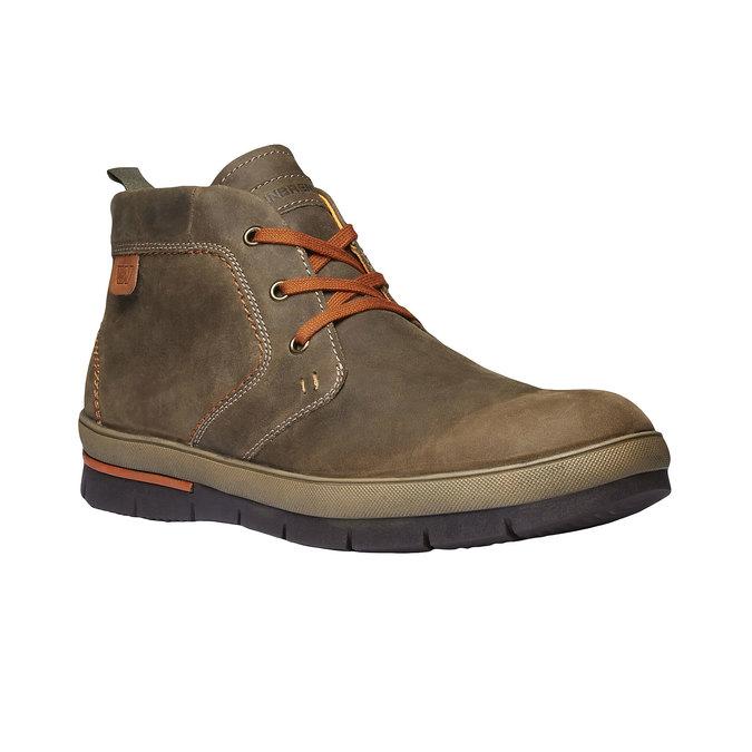 Skórzane buty sportowe weinbrenner, brązowy, 894-2209 - 13