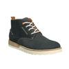 Męskie skórzane buty Chukka Boots weinbrenner, niebieski, 846-9629 - 13