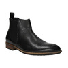 Skórzane buty typu Chelsea bata, czarny, 894-6666 - 13