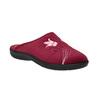 Kapcie damskie zhaftem bata, czerwony, 579-5603 - 13