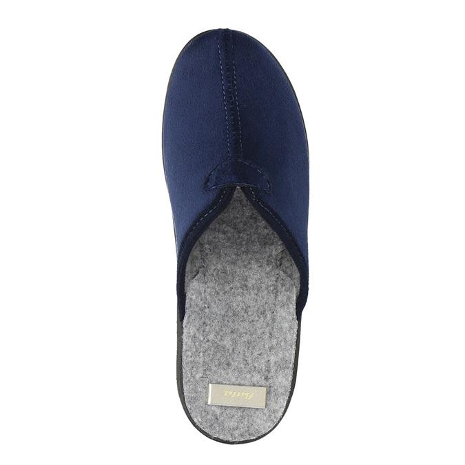 Kapcie damskie bata, niebieski, 579-9602 - 19