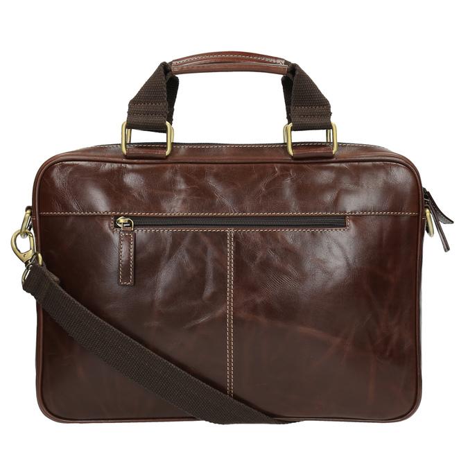 Skórzana torba męska bata, brązowy, 964-4204 - 26