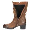 Botki damskie bata, brązowy, 696-3127 - 19