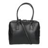 Czarna skórzana torba ze sztywnymi uchwytami royal-republiq, czarny, 964-6014 - 19