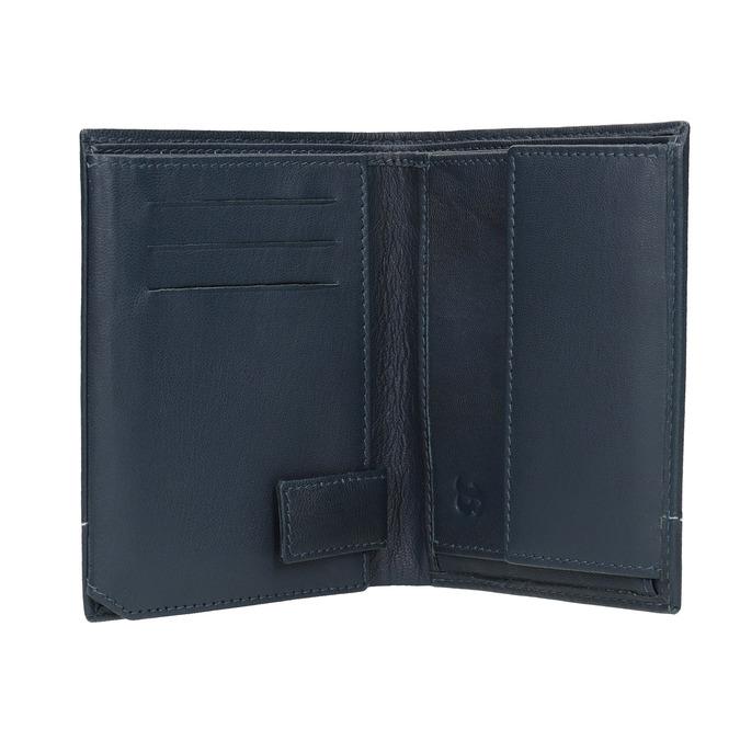 Skórzany portfel męski bata, niebieski, 944-9174 - 15