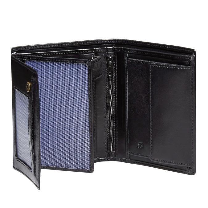 Skórzany męski portfel bata, czarny, 944-6121 - 15