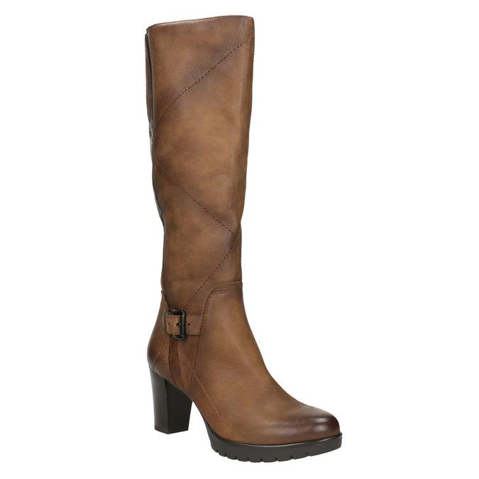 Kozaki damskie bata, brązowy, 796-4601 - 13