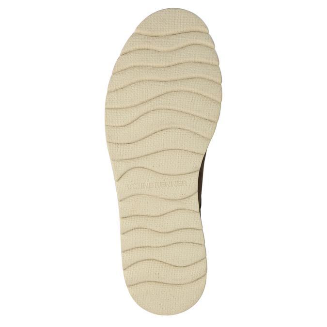 Męskie skórzane buty Chukka Boots weinbrenner, brązowy, 846-4629 - 26