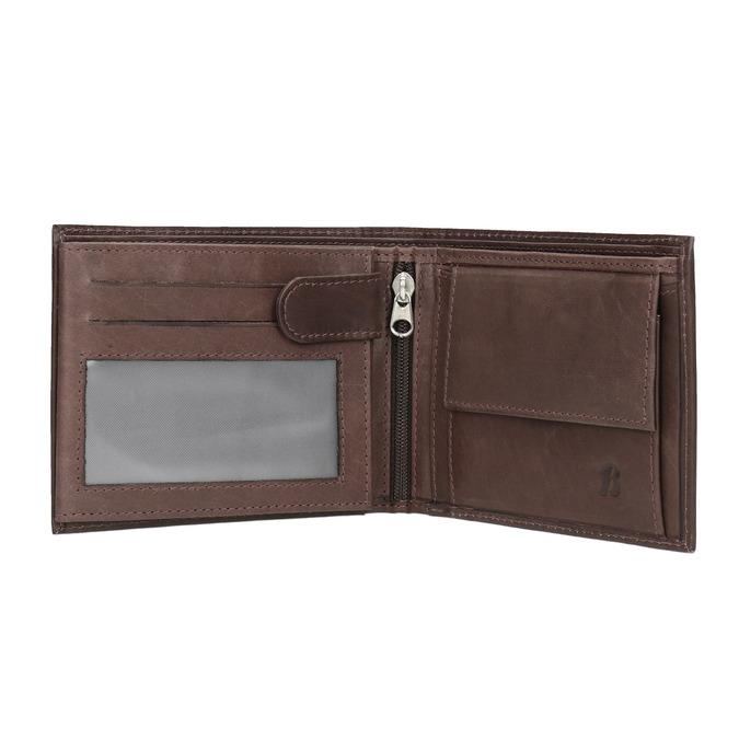 Skórzany portfel męski bata, brązowy, 944-4171 - 15