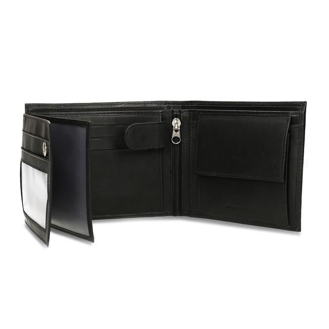 Skórzany portfel męski bata, czarny, 944-6171 - 15