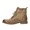 Ocieplane botki ze skóry bata, brązowy, 594-4610 - 26