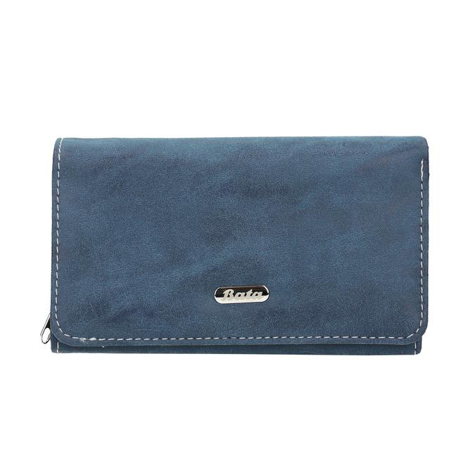 Niebieski portfel damski bata, niebieski, 941-9153 - 26