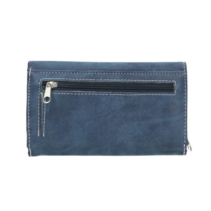 Niebieski portfel damski bata, niebieski, 941-9153 - 19