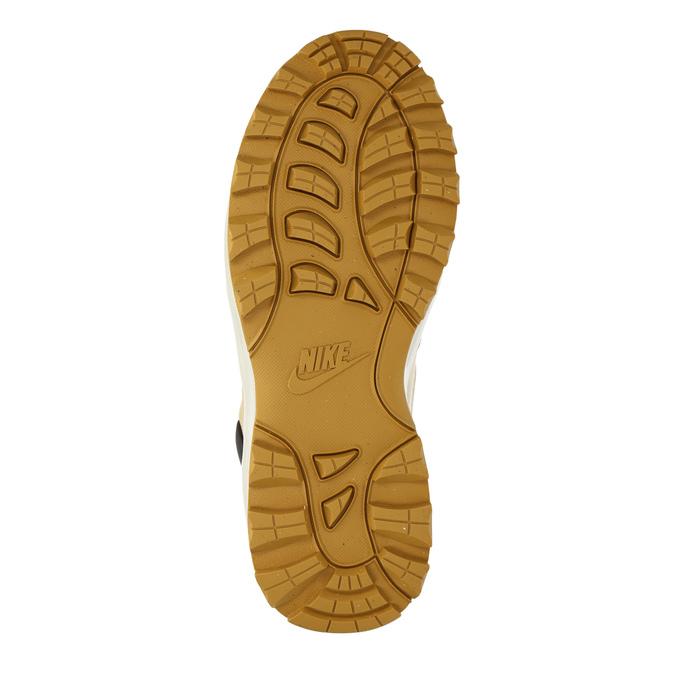 Skórzane buty męskie za kostkę nike, brązowy, 806-8435 - 26