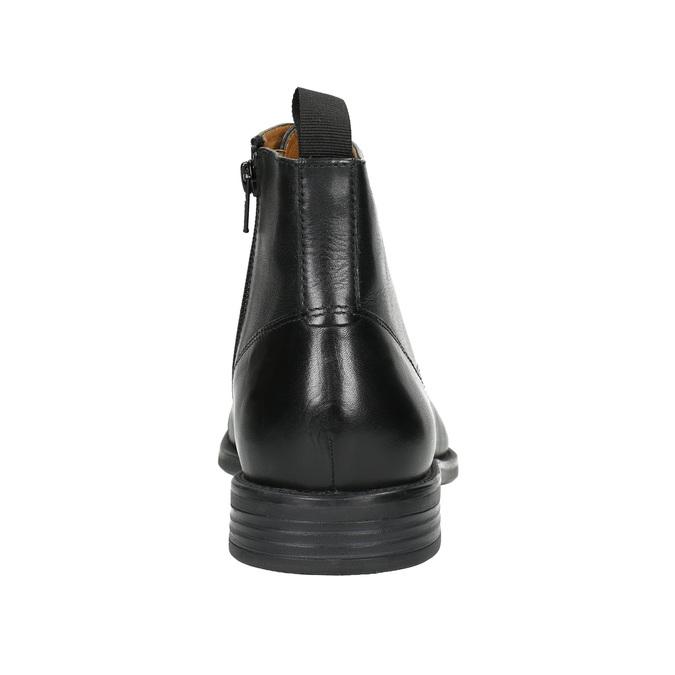 Skórzane botki vagabond, czarny, 894-6001 - 17