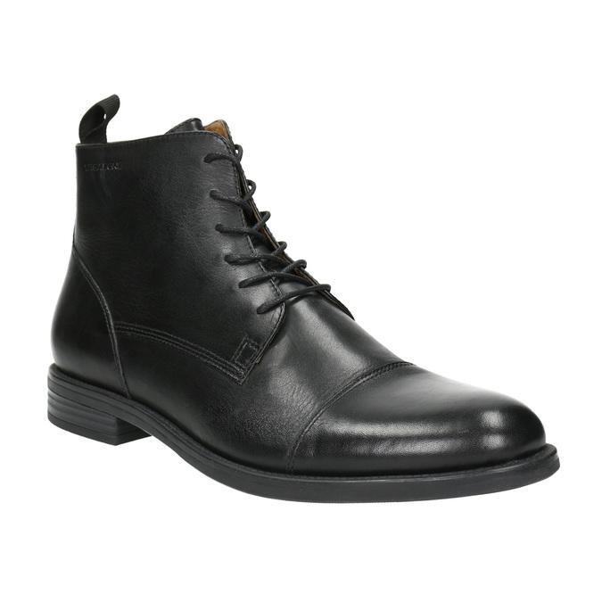 Skórzane botki vagabond, czarny, 894-6001 - 13
