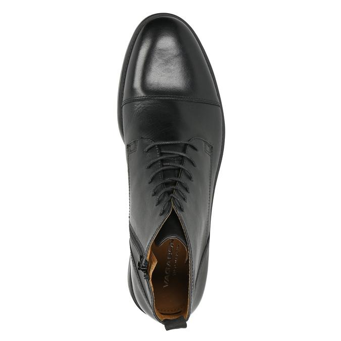 Skórzane botki vagabond, czarny, 894-6001 - 26