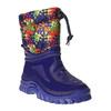 Zimowe buty dziecięce zociepliną mini-b, niebieski, 292-9201 - 13