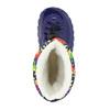 Zimowe buty dziecięce zociepliną mini-b, niebieski, 292-9201 - 19