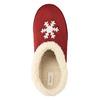 Kapcie domowe ze sztucznym futerkiem bata, czerwony, 579-5612 - 19