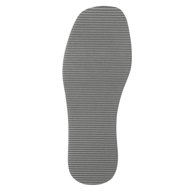 Kapcie męskie zpełnymi noskami bata, niebieski, 879-9605 - 26
