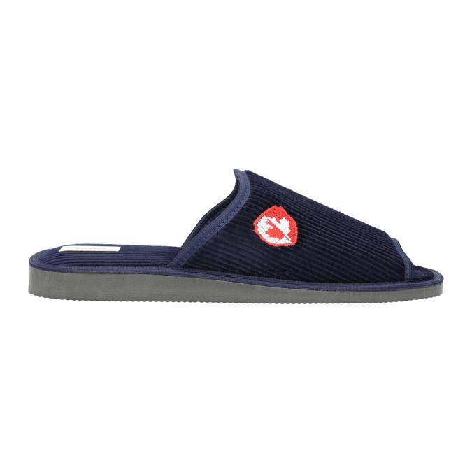 Kapcie męskie bata, niebieski, 879-9608 - 15
