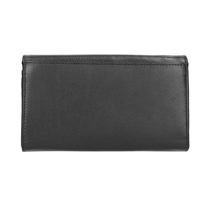 Skórzany portfel damski bata, czarny, 944-6357 - 19