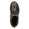 Męskie skórzane botki weinbrenner, brązowy, 896-4110 - 19