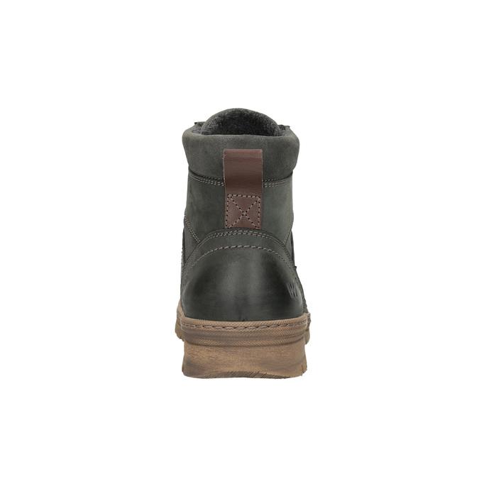 Męskie buty zimowe weinbrenner, szary, 896-2109 - 17