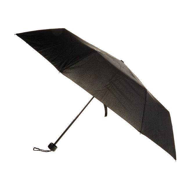 Czarna składana parasolka bata, czarny, 909-6600 - 13